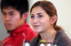 Gesa Krause will in Trier gewinnen. Foto: Silvesterlauf Trier