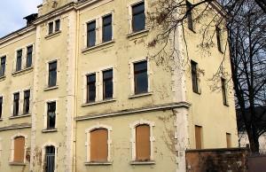 Auch hier ist das Bild in der Gneisenaustraße immer noch trostlos.