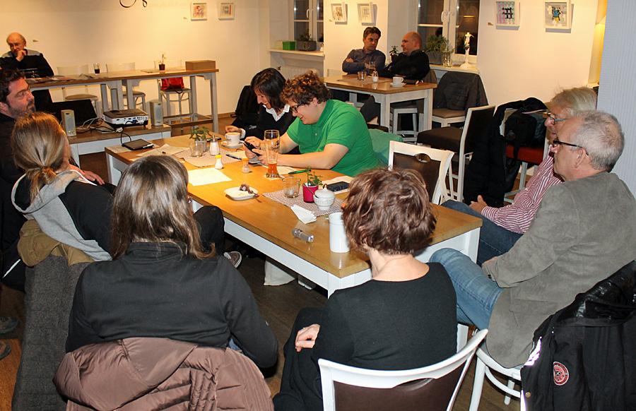 Parteitag der Trierer Grünen im Café Balduin mit Neuwahlen.