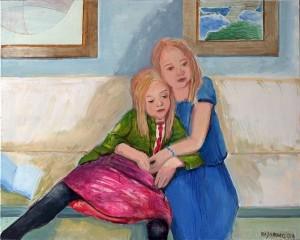 Bildnis von jungen Mädchen.