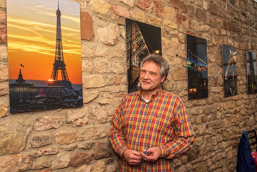 Die Fotografie ist seine Leidenschaft: Uli Schmidt. Foto: Rolf Lorig