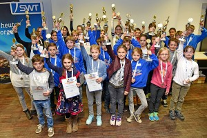 Die Sieger des SWT-Kids-Cup. Foto: SWT