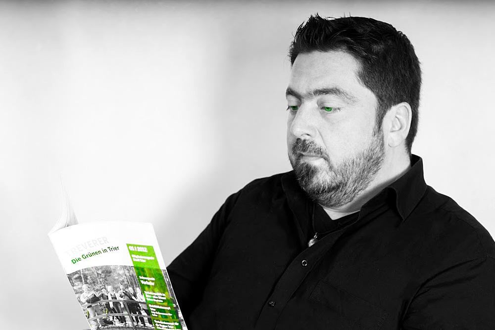 Kämpft für die Fortsetzung von Rot-Grün in Mainz: Thorsten Kretzer. Foto: Grüne