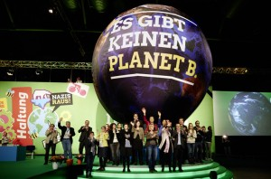 """""""Es gibt keinen Planeten B"""". Foto: Grüne"""