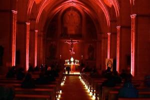 """""""24 Stunden für Gott"""" lud zu vielfältigem Programm in Marktkirche St. Gangolf ein."""