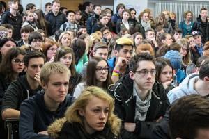 Rund 1500 Schüler nutzten die Gelegenheit zur Information an der Hochschule Trier. Foto: Hochschule Trier