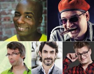 Fünf Comedians reiten Attacken auf das Zwerchfell der Zuschauer. Foto: Veranstalter