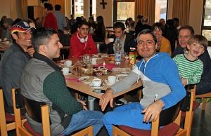 Wilkommenscafé im Fetzen-Café.