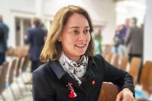 Katarina Barley sei schlagbar, sagt Rudi Müller von der Kreis-CDU. Foto: Rolf Lorig