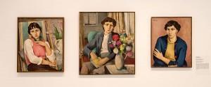 Drei Frauenportraits des Trierer Malers Peter Krisam