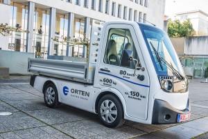 Schon heute bietet der Fahrzeughersteller Orten aus Bernkastel-Kues kleine Elektro-Lkw an, die ohne Feinstaubemissionen innerstädtisch eingesetzt werden können.