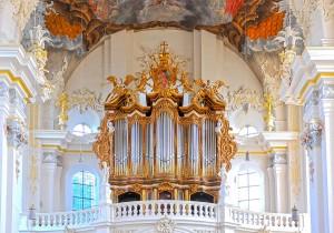 Die Orgel in St. Paulin. Foto: Rolf Lorig