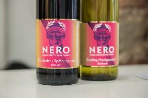 Nero überall - auch ials Rot- oder Weißwein...
