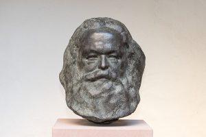 Karl Marx-Büste