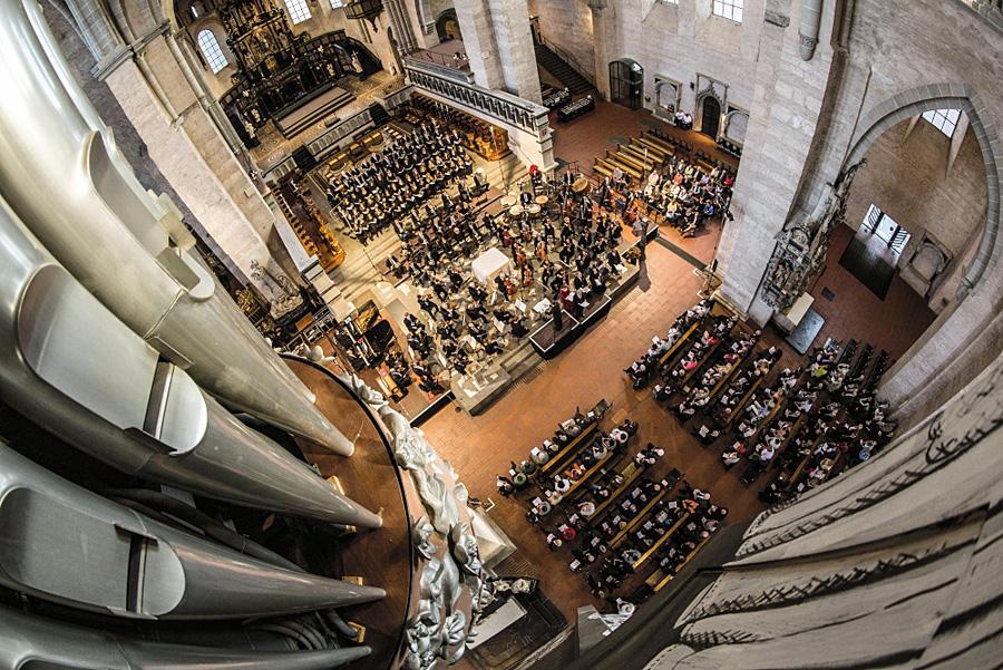 Das Mosel Musik Festival wird offiziell im Trierer Dom eröffnet. Foto: Artur Feller