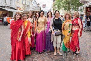 Auch beim Altstadtfest: Saöomes Schwestern