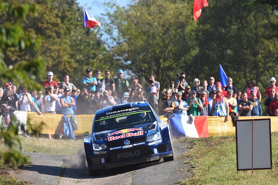 ADAC Rallye Deutschland, Volkswagen Polo R WRC. Foto: Oliver Kleinz