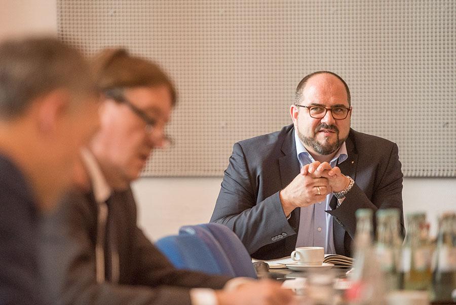 Thomas Egger (SPD) wird die Geschäftsführung der ttm zum 31. Dezember abgeben.
