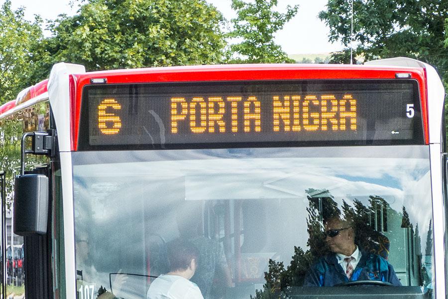 Auch die Stadtbusse sind von der ADAC Rallye Deutschland tangiert. Foto: Rolf Lorig