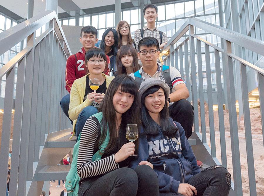 Yi-Ching Hsu, Chia-Sheng Lai und Yun-Che Lee (v.l unten nach rechts). Foto: Sheila Werner