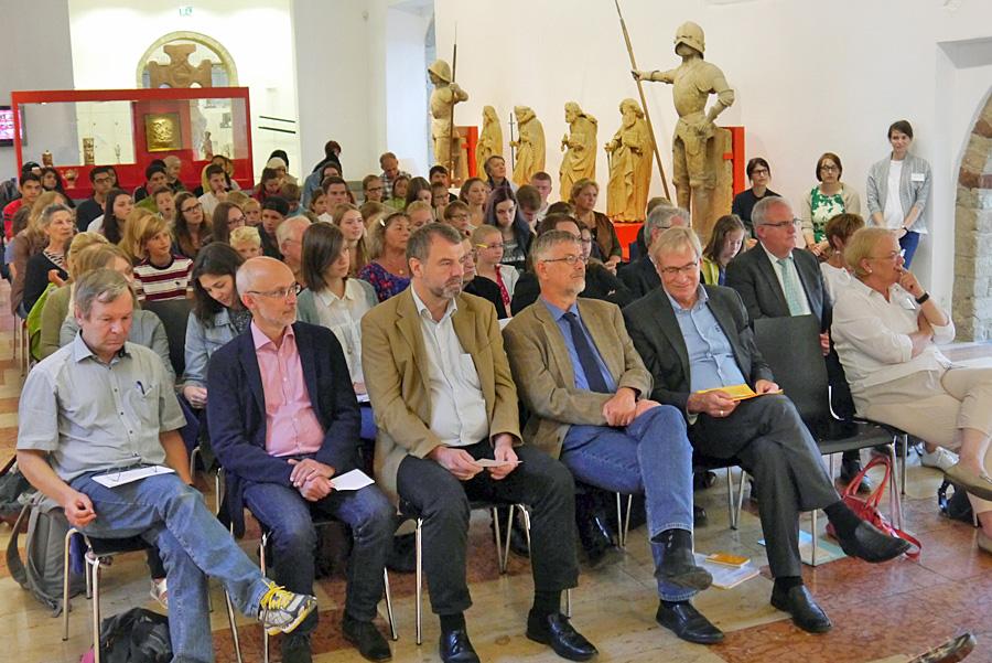"""Der Bundesgedichtwettbewerbs """"lyrix"""" wurde am Mittwoch im Stadtmuseum Trier eröffnet. Alle Fotos: Stadtmuseum"""