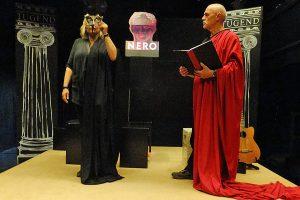 """Szenenbild aus """"Quo Vadis"""" Foto: Theater im Museum"""