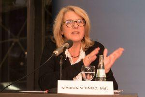 Für Marion Schneid ist Kultur Lebensqualität.