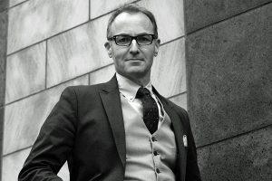 Bariton Tobias Scharfenberger.