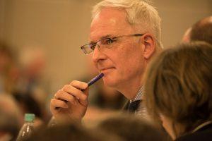 OB Wolfram Leibe stellt sich morgen Abend in Ehrang den Fragen der Bürger. Foto: Rolf Lorig
