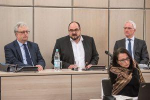 Thomas Egger spricht zum letzten Mal vor dem Stadtrat. Foto: Rolf Lorig