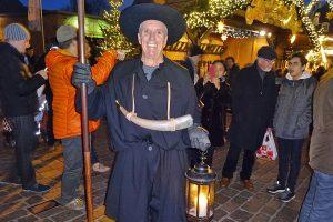 Hans-Peter Peters ist einer der drei Trierer Nachtwächter. Foto: ttm