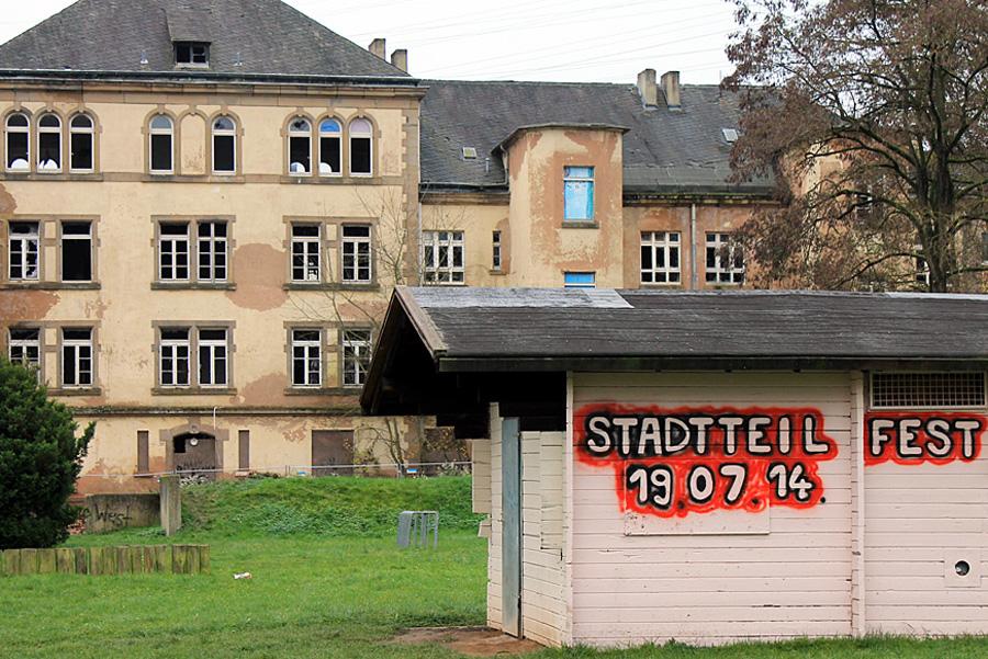 In der Gneisenau-Ruine werden 28 Wohneinheiten im sozialen Wohnungsbau realisiert.