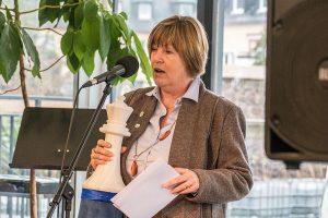 Sie kennt die Bedeutung der Dame beim Schach: Eugenie Müller.