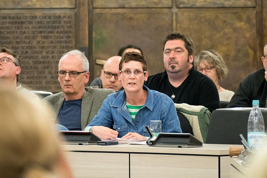 Die Grünen pochen auf ihre konfessionslose Frontfrau Petra Kewes als Mitglied im Verwaltungsrat der Hospitien. Foto: Rolf Lorig